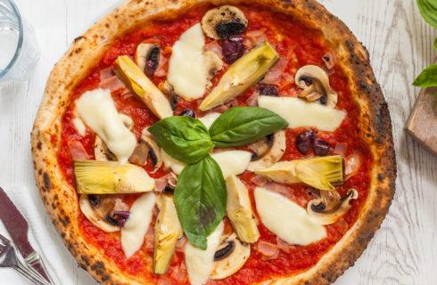 Recept: gezonde veganistische pizza met artisjok