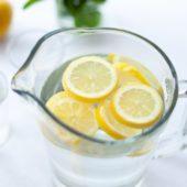Citroenwater en zijn vele gezondheidsvoordelen
