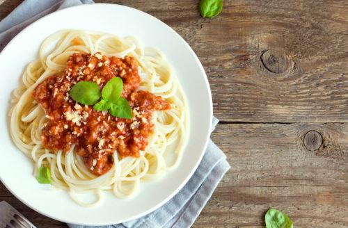 Probeer eens deze heerlijke vegan spaghetti bolognese!