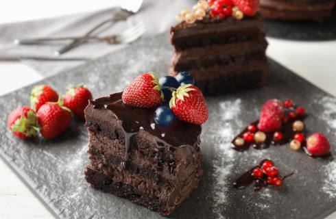 Recept: lekkere chocoladetaart met rood fruit