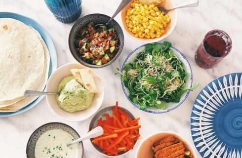 Recept: wraps met kip en Mexicaanse kruiden