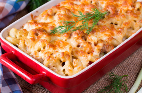Recept: mac & cheese met paddenstoelen