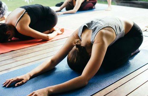 De ultieme yoga houding om tot jezelf te komen, childpose