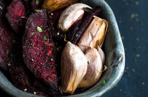 Recept: geroosterde rode bieten uit de oven