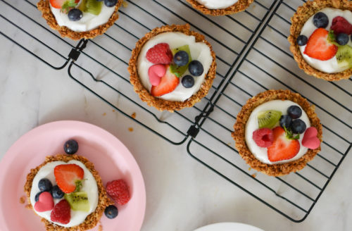 Recept: vegan ontbijttaartjes voor Moederdag