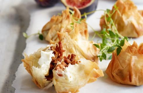 Recept: Griekse filodeeg pakketjes