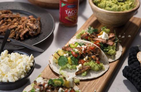 Recept: taco's met gegrilde entrecote en ananas
