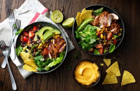 Recept: zomerse taco style kipsalade