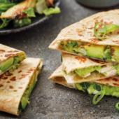 Recept: quesadilla's met kalkoen en avocado