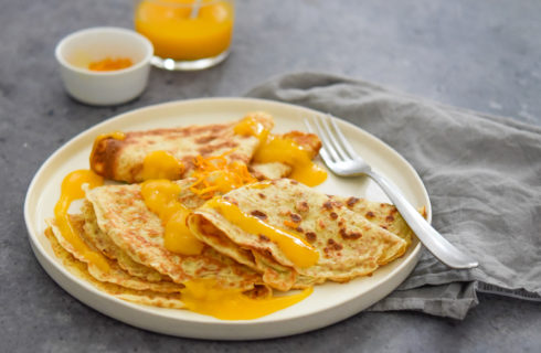 Recept: Franse volkoren crêpes met sinaasappelsaus