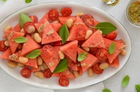 Recept: tomaten-watermeloensalade