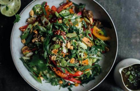 Recept: frisse knapperige Thaise salade