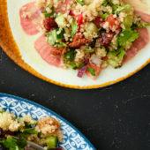 Recept: quinoa tabouleh