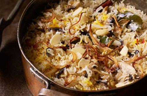 Recept: overheerlijke champignon Pilav