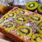 Start de week goed met deze kiwi ontbijtcake