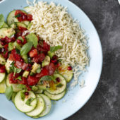 Recept: courgette Carpaccio