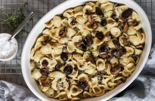 Recept: romige vegan pasta met truffel en champignon