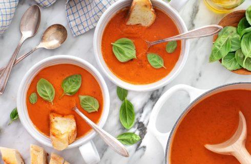 Recept: snelle tomatensoep
