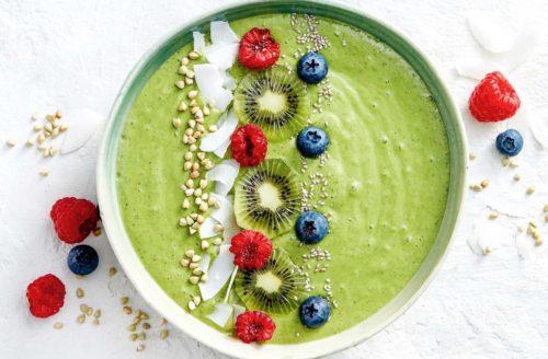 Recept: super gezonde groene smoothiebowl