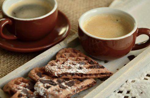 Koolhydraatarm ontbijt: Chocoladewafels
