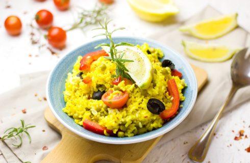 Recept: snelle en makkelijke vegan paella vol met groente