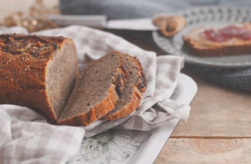 Suikervrij bananenbrood: het lekkerste gezonde tussendoortje