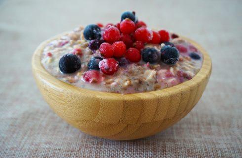 Overnight oats: een gezond ontbijt dat je helpt met afvallen