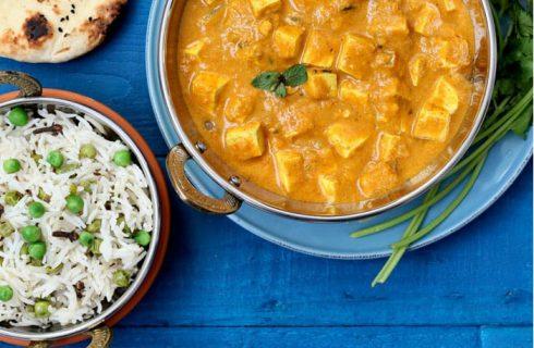 Simpel en lekker: Mango curry met rijst (vegan)