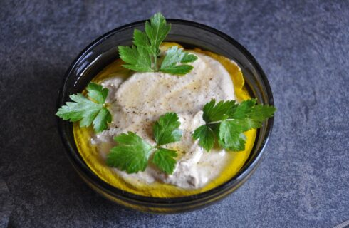 Recept: Baba ganoush (midden oosterse aubergine dip)