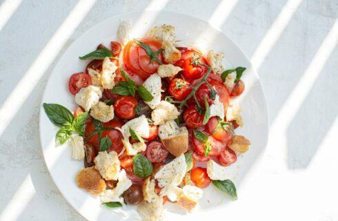 Recept: Panzanella (Toscaanse broodsalade)