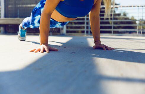 Crossfit workout voor thuis zonder attributen