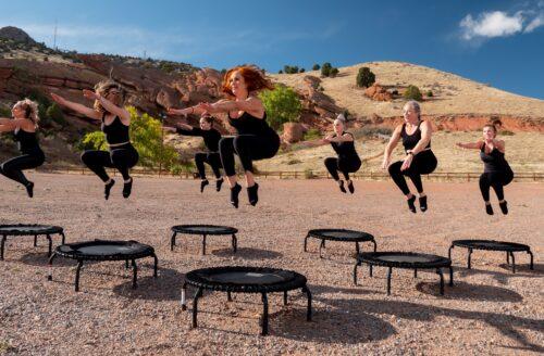 Trampolinespringen als workout in plaats van een rondje joggen!