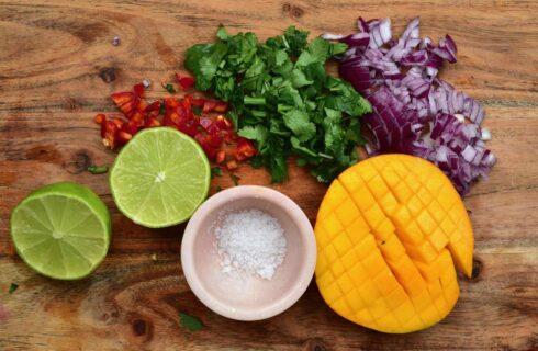 Recept: frisse mango salsa (Mango Pico de Gallo)