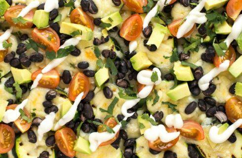 Recept: koolhydraatarme courgette nacho's!