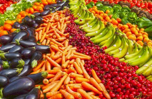 Het regenboogdieet: waarom je moet eten in 7 kleuren