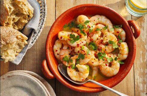 Recept: garnalen met knoflook en citroen