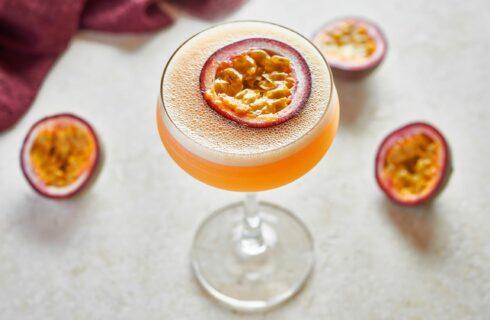 Pornstar Martini (cocktail met passievrucht, vanille en wodka)