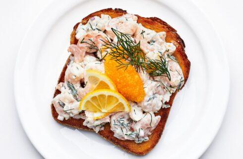 Recept: toast skagen (Zweedse toast met garnalen)
