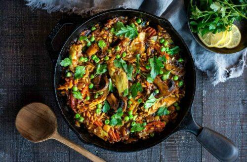 Recept: overheerlijke Spaanse groente paella