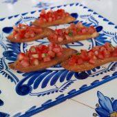 Deze originele Italiaanse bruschetta wil jij zeker proberen!