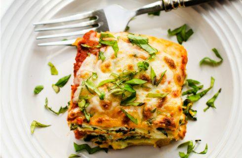 Vetarme vegetarische spinazie lasagne