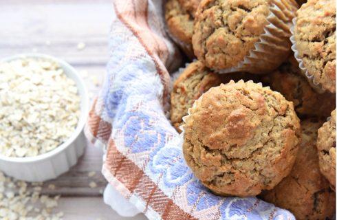 Gezond & goedkoop: Vanille ontbijt muffins met havermout