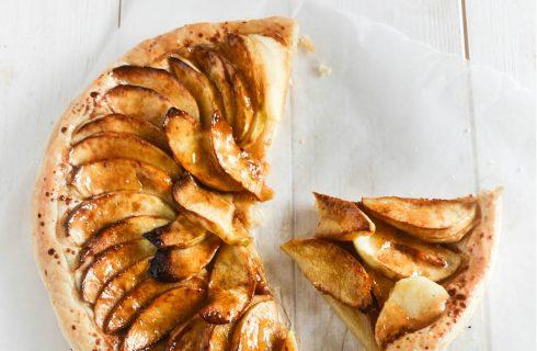 Gezonde en glutenvrije appel tart tartin