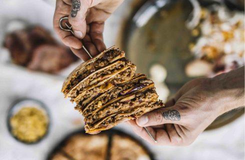 Verrukkelijke Beef quesadilla's door Chef met Lef