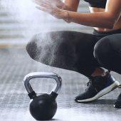 Intensieve 10 minuten durende workout met een springtouw