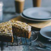 Vegan banaan toffee (verjaardags)taart