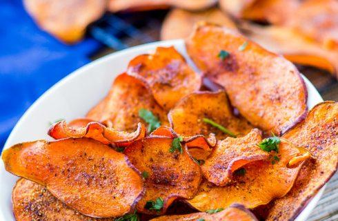 Healthy groente chips (vegan)