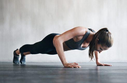 Ook jij kan een push up! (in 3 stappen naar een volwaardige push up)
