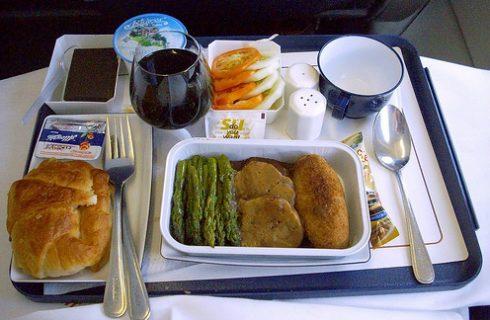 'Vliegtuig-eten' gezond en lekker?