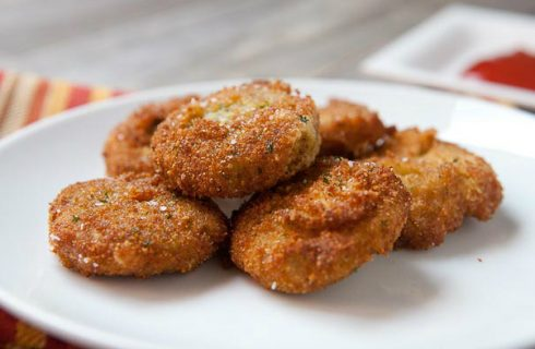 (on)gezond: Knapperige vegetarische veggie nuggets
